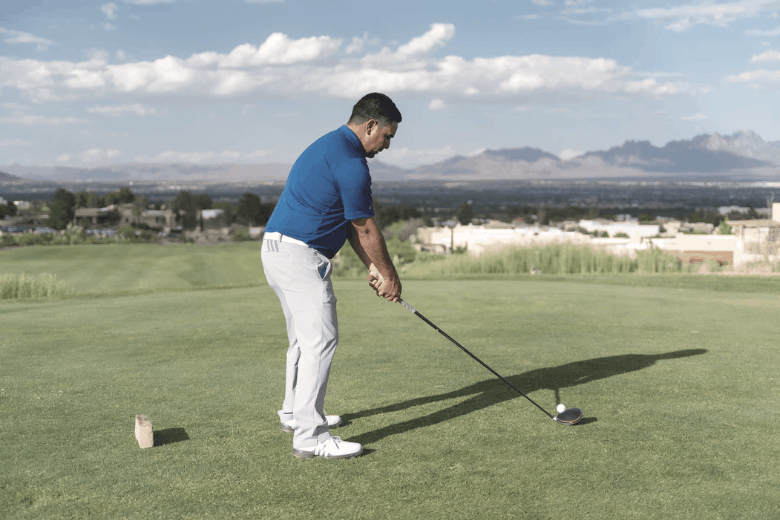 power of hit and swing a driver
